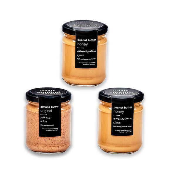 Buy 1 almond butter jar & 1 peanut butter jar, get 1 peanut butter jar for Free (200gm). thumbnail