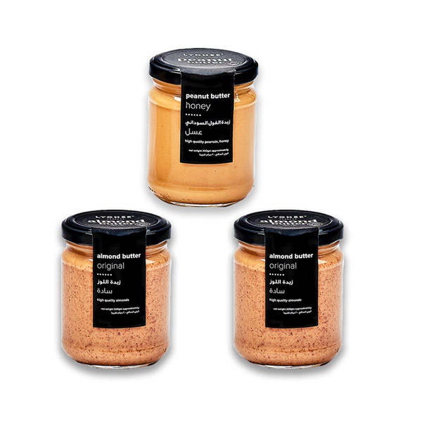 Buy 2 almond butter jars, get 1 peanut butter jar for Free (200gm) thumbnail