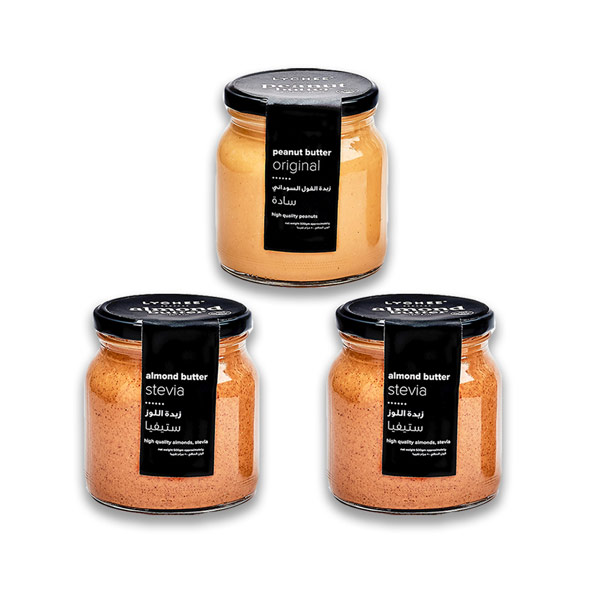 Buy 2 almond butter jars, get 1 peanut butter jar for Free (500gm) thumbnail
